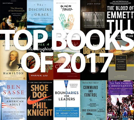 My Top Books Of 2017 Leading In Ministry