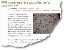 Local offer - useful resources