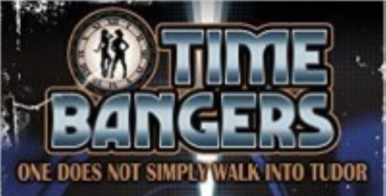 time bangers book text on title