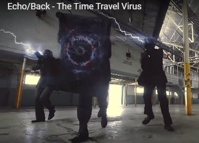 Neanderthal reaction in Echo Back - The Time Travel Virus