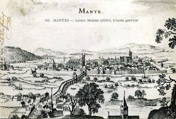 A trip to Mantes la Jolie, July 11, 1792
