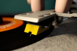 A Single Life - with a record player