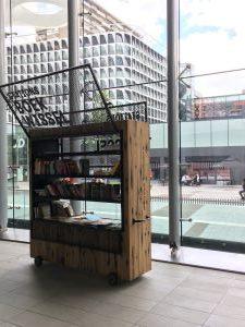 book swap at Utrecht Centraal, the Netherlands