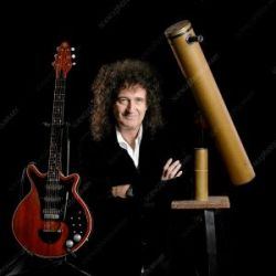 Brian May Astrophysicist and songwriter