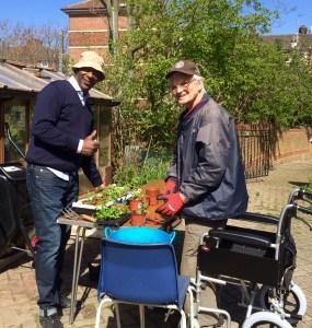 garden-geoffrey and devon april 16