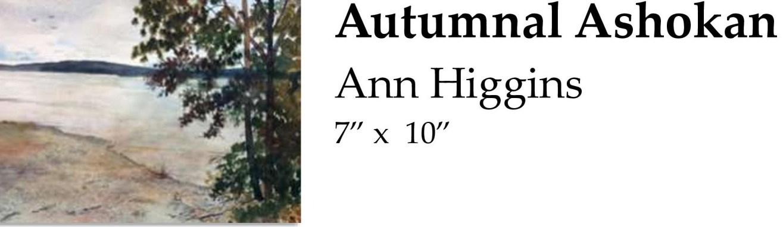 Autumnal Ashokan