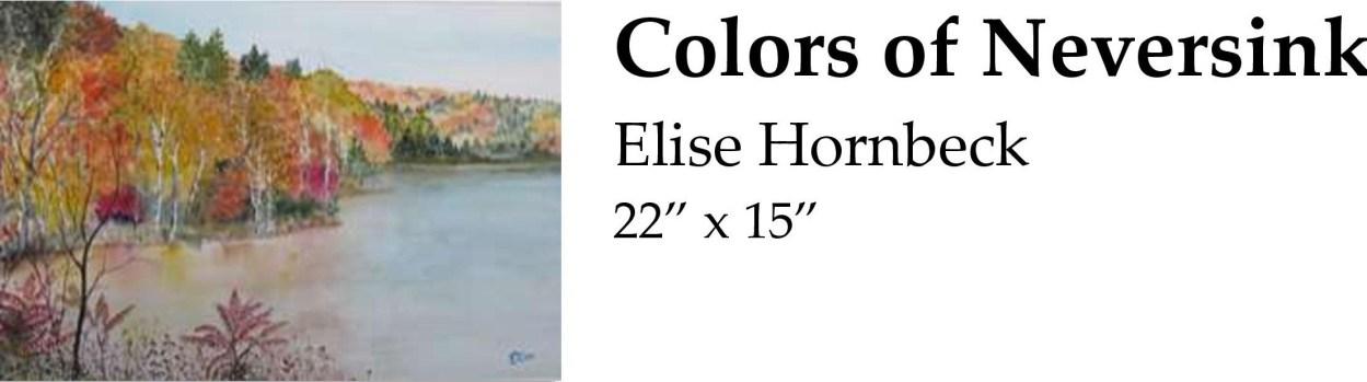 Colors of Neversink Elise Hornbeck