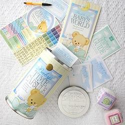 Baby Time Capsule - Spread Out Photo