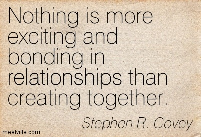 Stephen Covey Bonding Quote