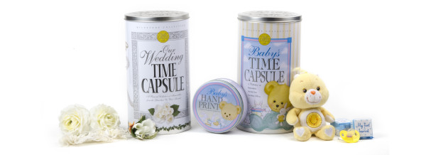 Time Capsules with Hand Print Kit