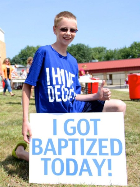 Church Time Capsule Ideas - Baptism