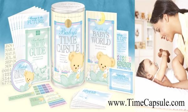 Baby Time Capsule Memory Book