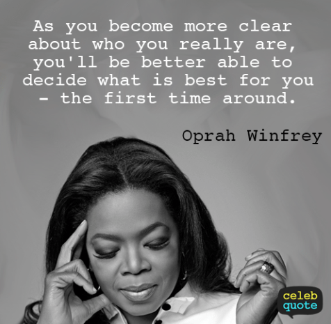 Oprah Self Love Quote