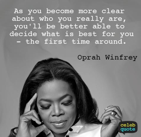 Oprah Self Love Quote