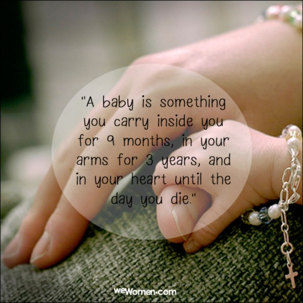 First Mommy Thoughts