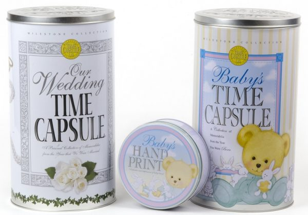 Baby Time Capsule and Wedding Time Capsule