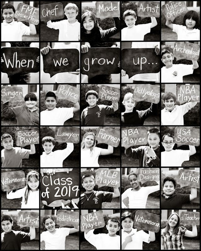 Message to the Future - First grade photo ideas