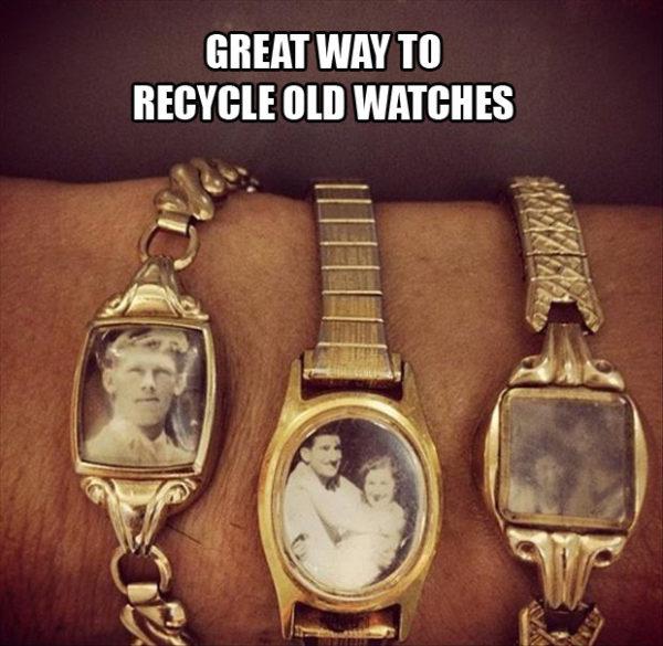 Watch Redesign - Trash to Treasure