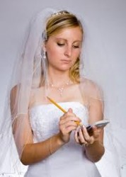 Plan ahead - Wedding Disasters