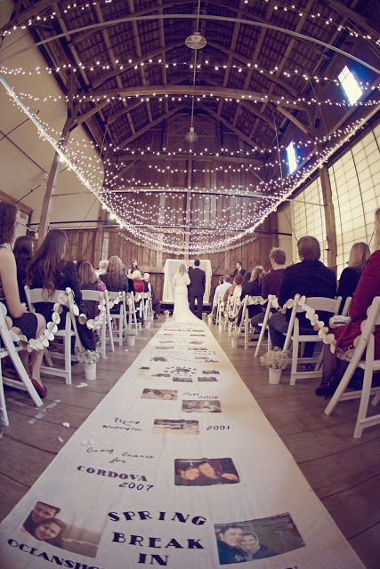 Personalized Wedding Ceremony Ideas - Aisle Runner