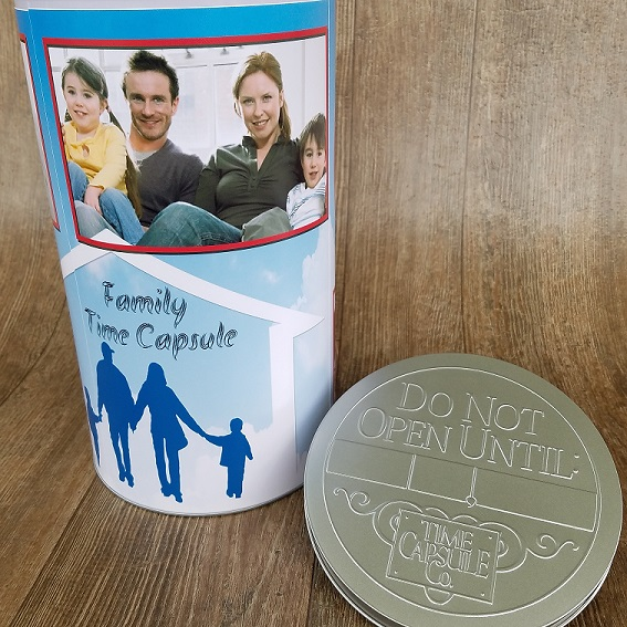 DIY Family Time Capsule