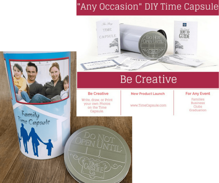 DIY Family Time Capsule