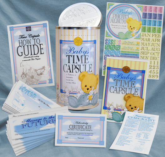 Personal Baby Gift - Baby's Time Capsule