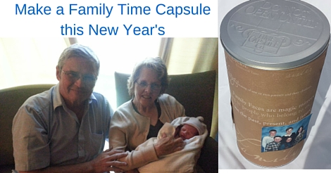 Meaningful Resolutions for New Year's - Family Time Capsule