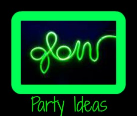 New Year's Party Themes - Black Light