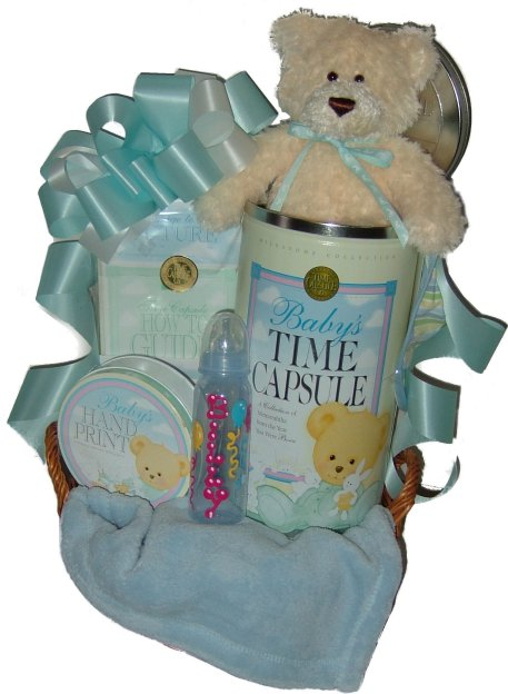 Baby Gift Basket Ideas | Time Capsule Company