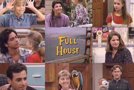 Reminisce with Fuller House - Collage