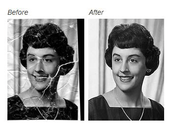 Make Old Photos Last Longer - Before and After