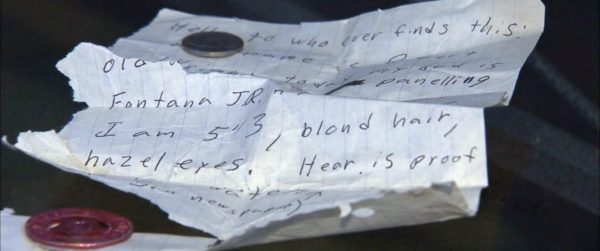 Time Capsule for the home - Letter