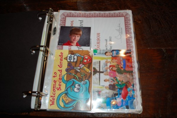 School Memory Book - Rewards and Mementos
