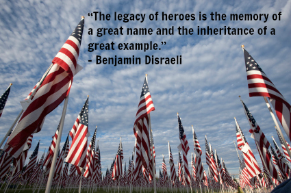 Celebrate a Life - Flag Ceremony Memorial Day