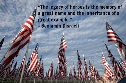 Celebrate a Life - Flag Ceremony Memorial Day