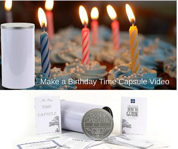 Birthday Time Capsule Video