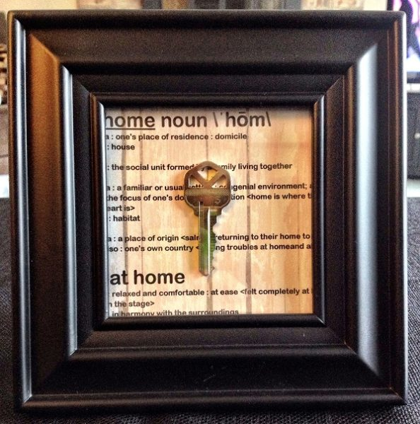 Important Pages for your Family Album - First House Key