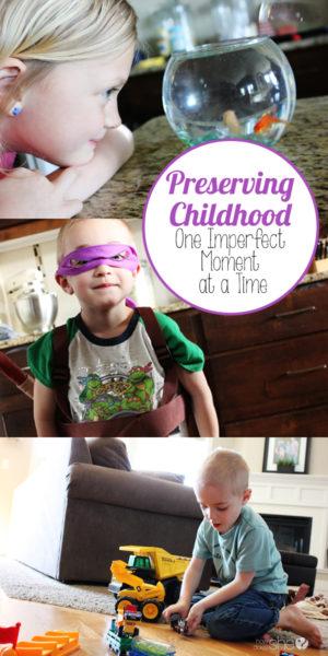 Preserve Childhood Memories - Growing Up