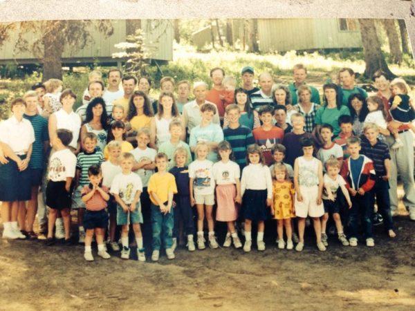 Unique Family Reunion Memories - Family Photo