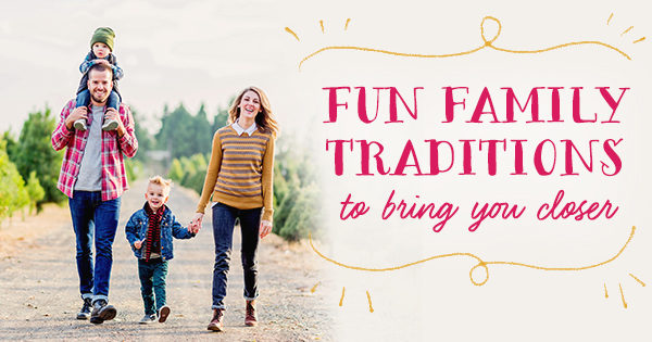 Family Traditions to Pass On - Family Walk