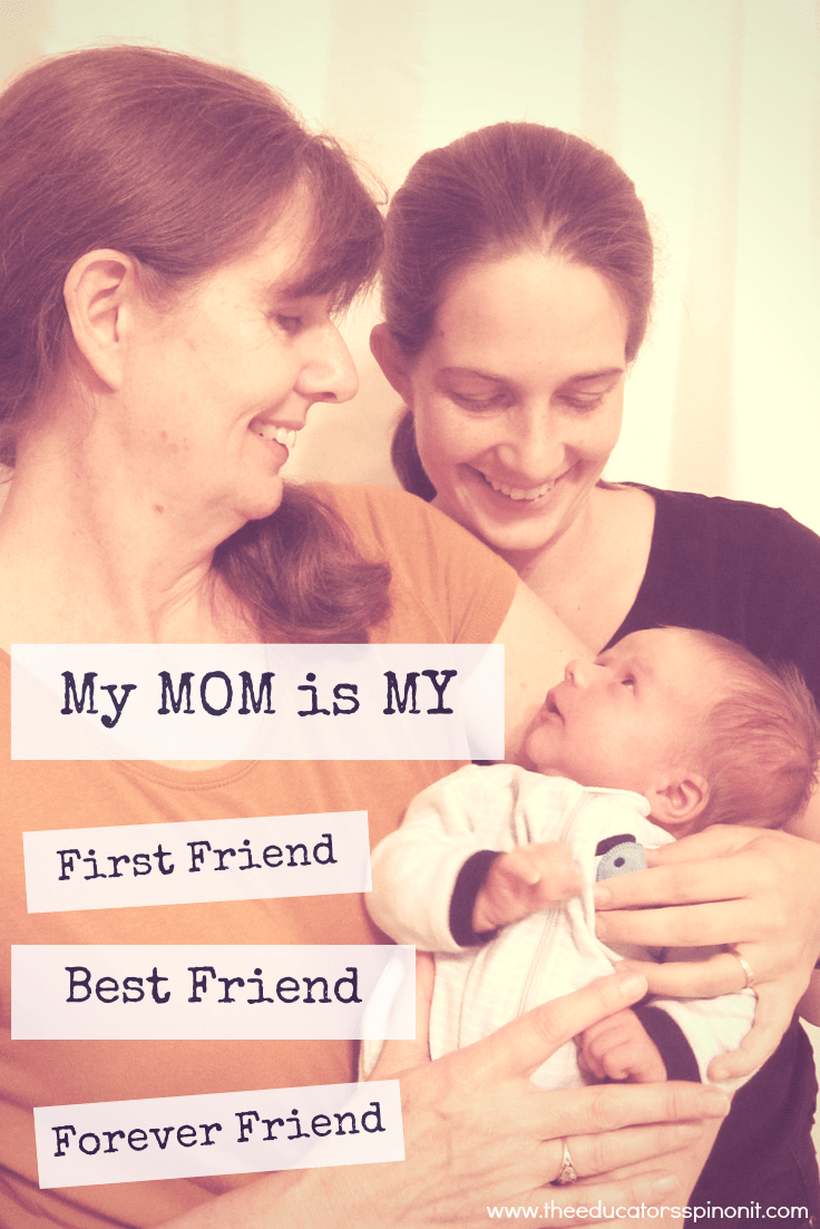 Network and Build Authentic Relationships - My Mom is my Best Friend