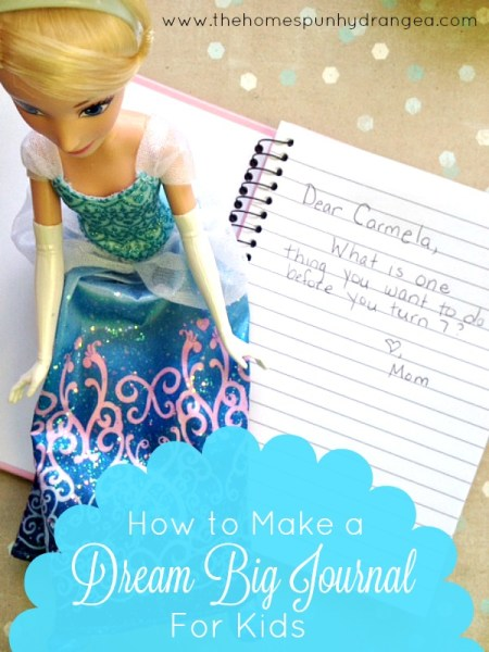 Encourage Dreaming in Children - Make a Dream Journal
