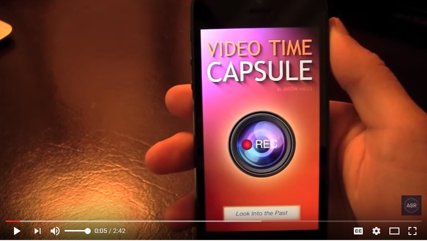 Video Time Capsule - App Review