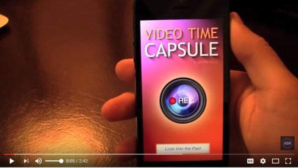 Video Time Capsule - App Review