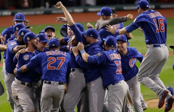 Cubs Time Capsule Moment - Teamwork