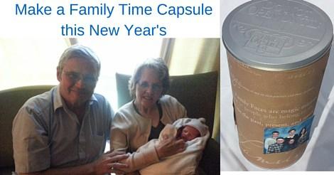 Family Time Capsule Tin