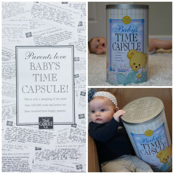 Parents Love Baby Time Capsule