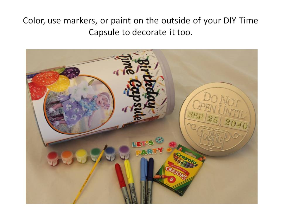 DIY Time Capsule craft