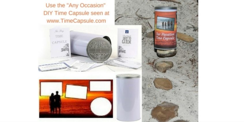 Tips for Making a Time Capsule